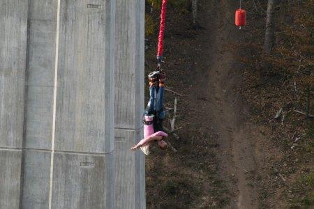Bungee jumping opět v provozu