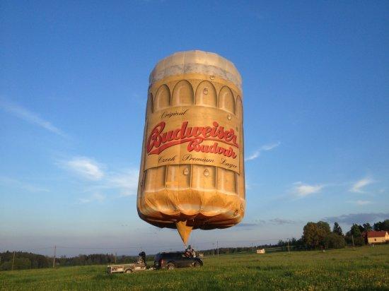 Let pivním balónem