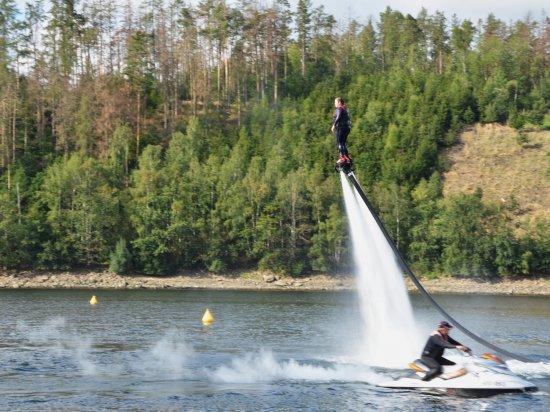Flyboarding Orlík