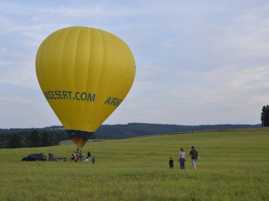 Let balónem Jihlava