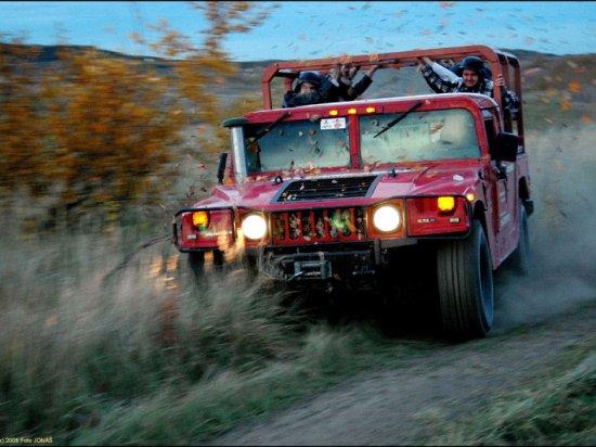 Jízda Humvee Praha