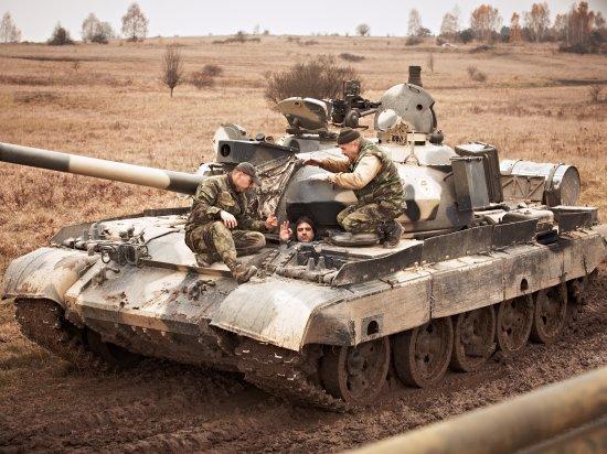 Jízda tankem Milovice