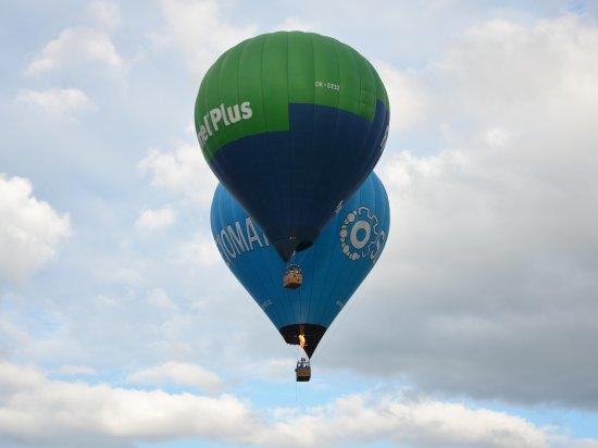 Let balónem Plzeň