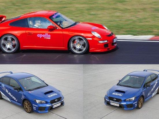 Subaru a Porsche