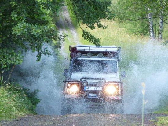 Expedice s Land Roverem