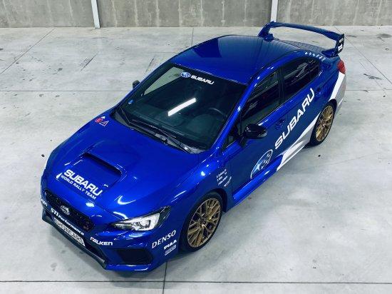 Subaru WRX STi Praha