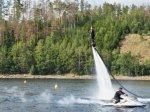 Flyboarding Dalešice
