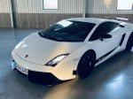 Noční Praha v Lamborghini