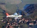 Vyhlídkové lety Plzeň
