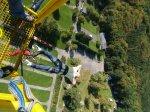 Bungee jumping z jeřábu v Brně