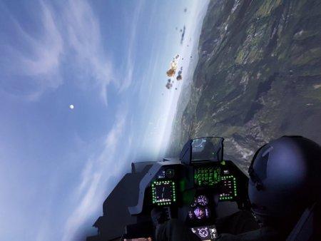 Simulátor stíhačky F16