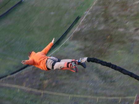 Bungee jumping Harrachov