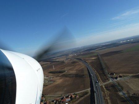 Pilotem ultralightu v Sazené