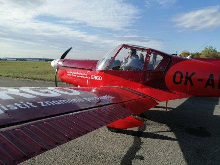 Pilotování letadla Brno
