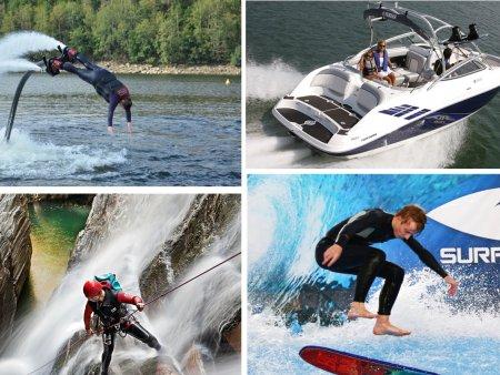 Adrenalin na vodě