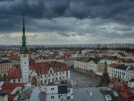 Let balónem Olomouc