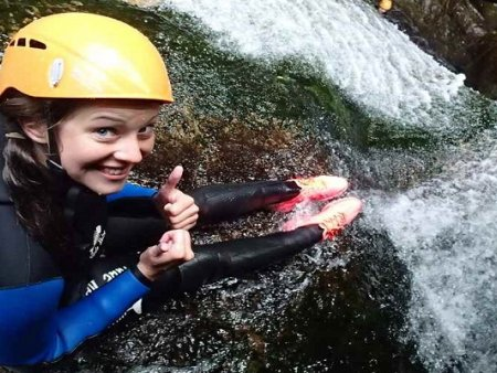 Canyoning Itálie