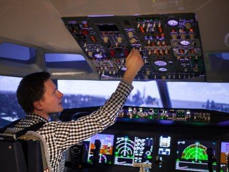Letecký simulátor Brno