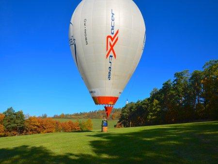 Adrenalinový let balónem