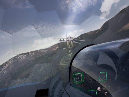 Simulátor stíhačky Hornet